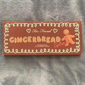 NEW unopened Too Faced Gingerbread palette